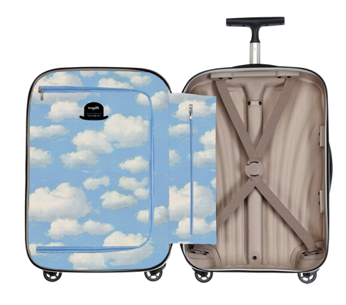 Чемодан René Magritte I Cosmolite компании Samsonite